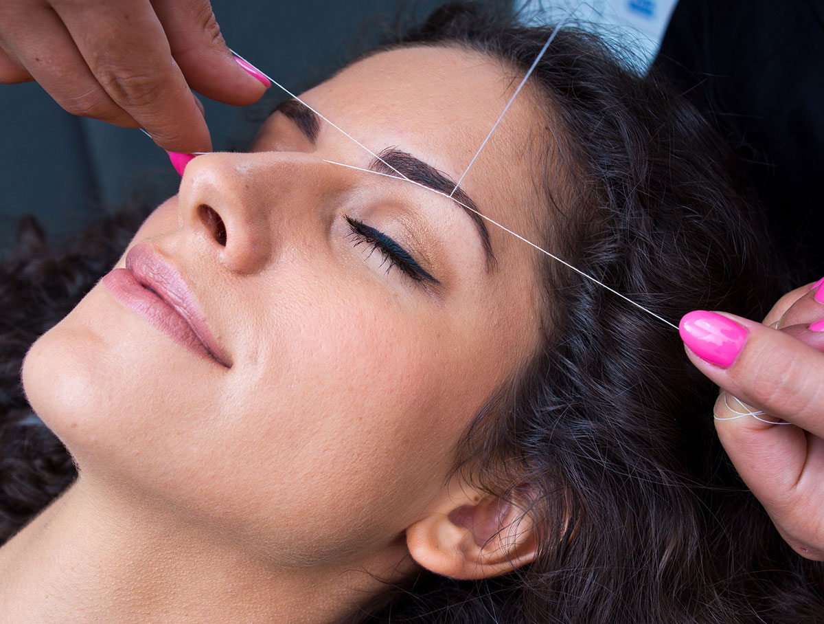 eyebrow threading training surrey
